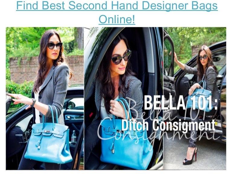 Find Best Second Hand Designer Bags Online