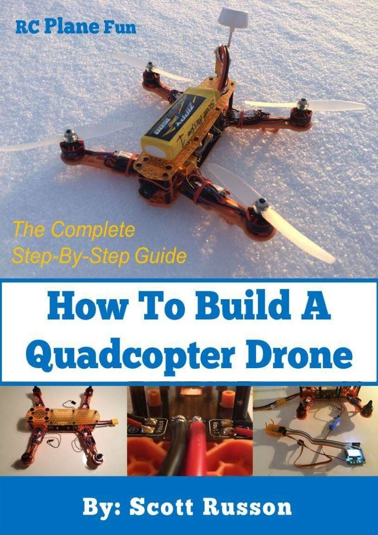 How To Build A Quadcopter Drone Scott Russon Hobbyking Wiring Diagram