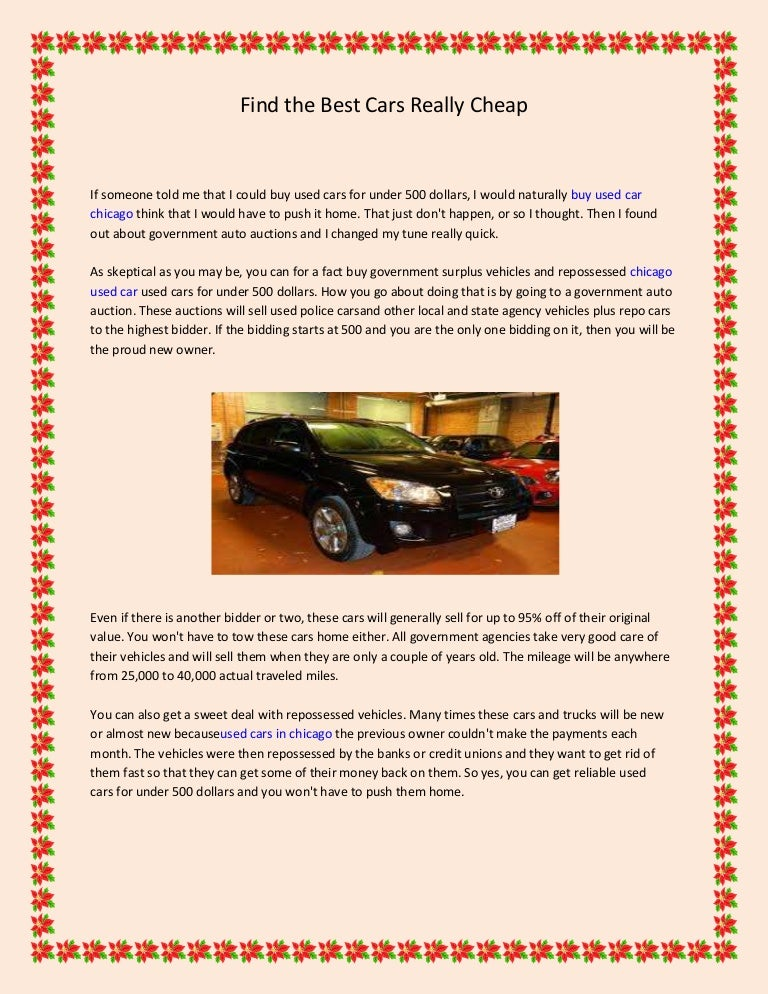 Really Cheap Cars >> Find The Best Cars Really Cheap