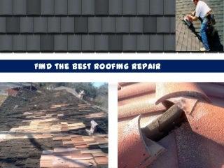 Find the best roofing repair contractors