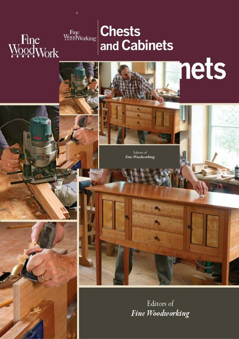 Free [DOWNLOAD]❤ Fine Woodworking Chests and Cabinets
