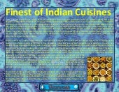 Finest of indian cuisines
