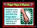Finger Plays, Rhymes, and Songs