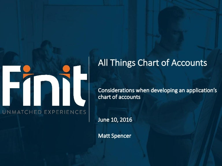 Finit - All Things Chart of Accounts