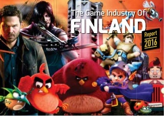 Game Industry of Finland 2016 brochure