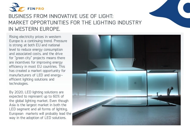Finpro market opportunity led technology