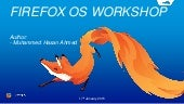 Firefox OS Workshop