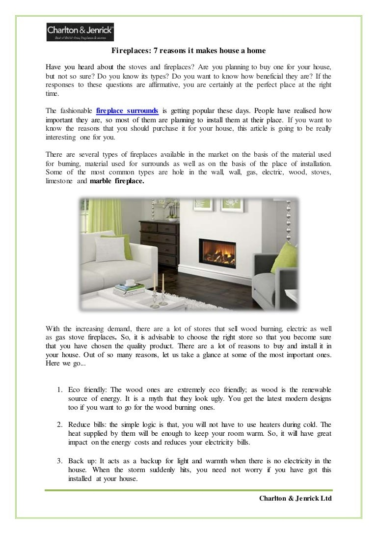 fireplaces 7 reasons it makes house a home