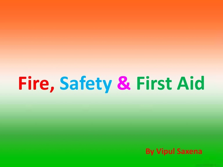 fire safety first aid