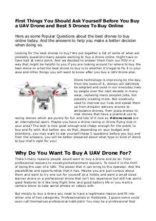 Faire Voler Un Drone, C'est Pas Flight Simulator