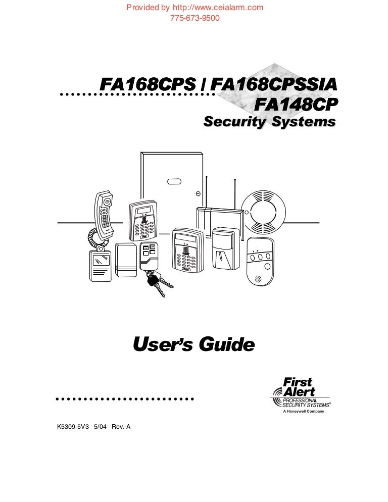 First Alert Security System Manual