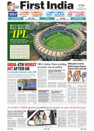 First india jaipur edition-12 june 2020