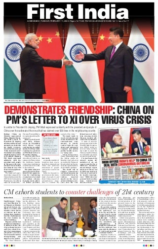 First india gujarat for gujarat today epaper 11 feb 2020 edition
