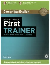 cambridge first trainer  Cambridge First Trainer (Second Edition)
