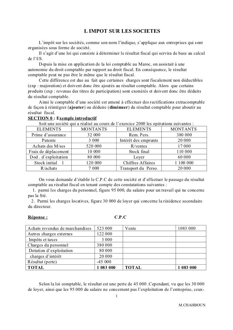 Fiscalite Tce 2