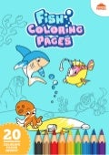 Fish Coloring Pages - Printable Coloring Book For Kids