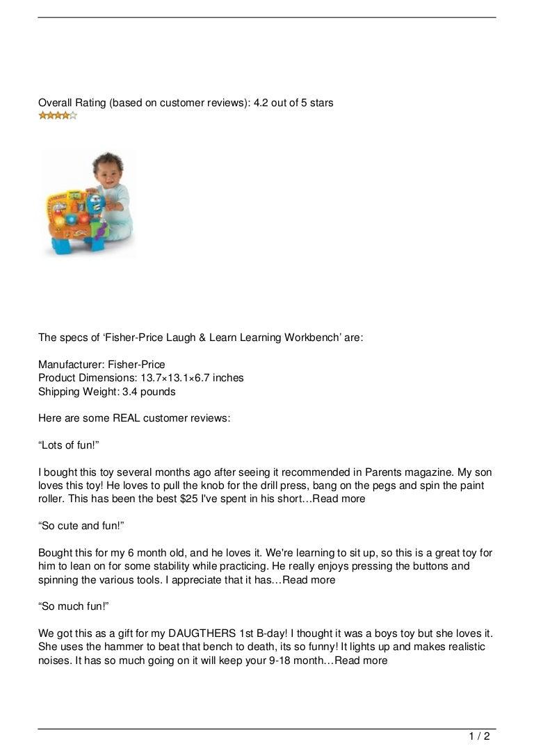 Fabulous Fisher Price Laugh 038 Learn Learning Workbench Review Inzonedesignstudio Interior Chair Design Inzonedesignstudiocom