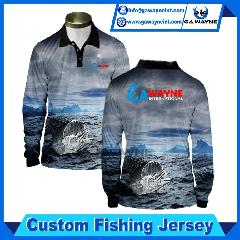 custom fishing jerseys