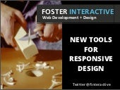 New Tools For Responsive Design