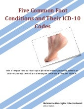 Five Common Foot Conditions and Their ICD-10 Codes
