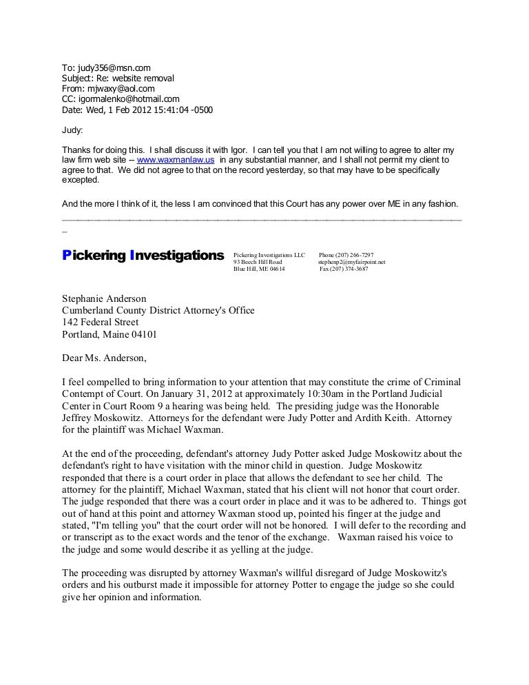 Five witness statements to federal obstruction of justice waxman ma – Earthworm Worksheet Answers