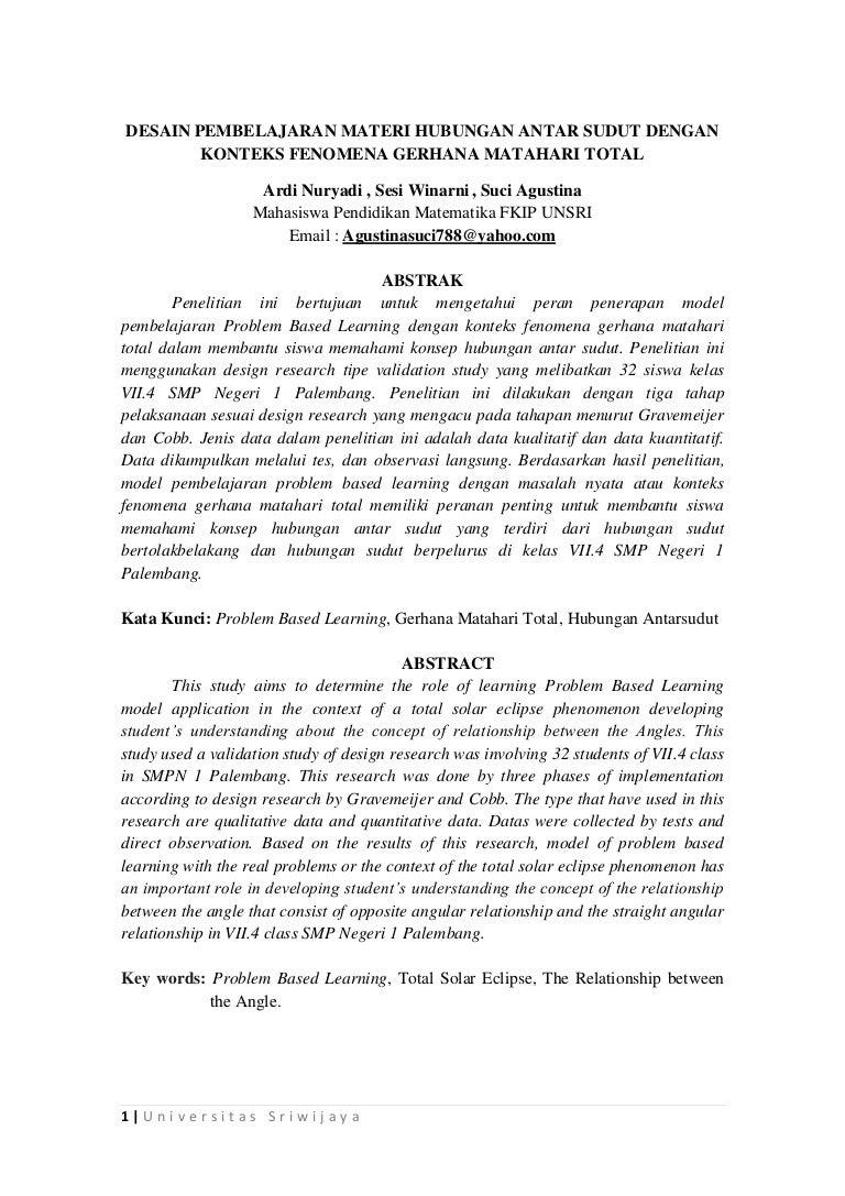 Design Pembelajaran Matematika Dg Konteks GMT