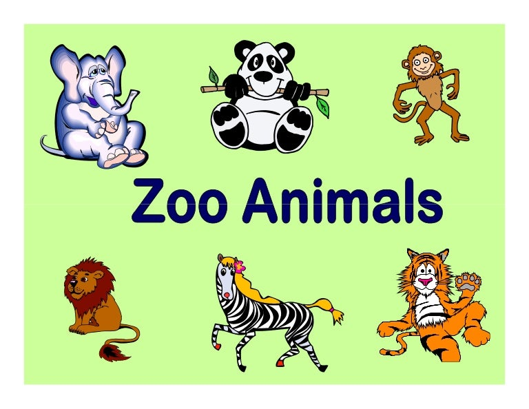animals with four letters flashcards zoo animals 20464
