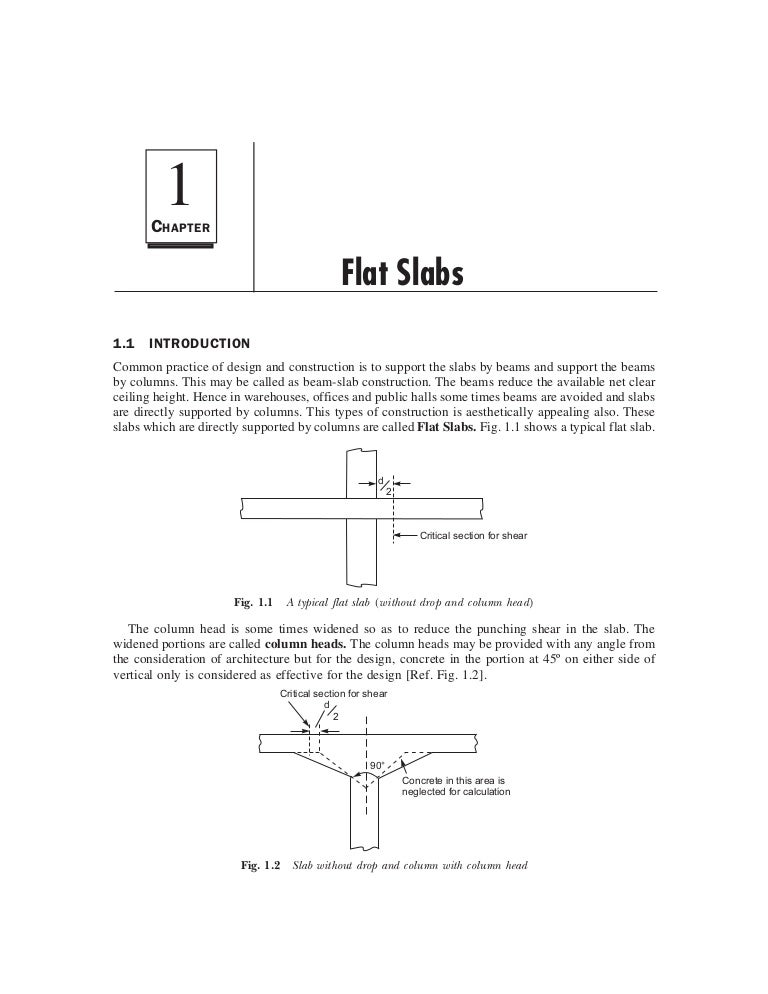DESIGN OF FLAT SLABS