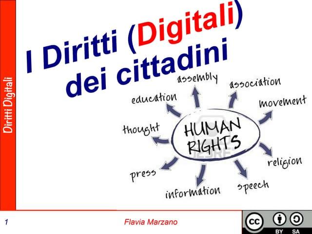 I Diritti (Digitali) dei cittadini