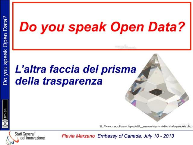 Flavia marzano open_data_canada