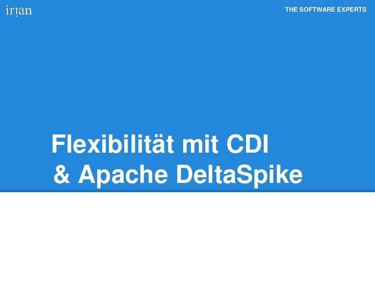 Flexibilitaet mit CDI und Apache DeltaSpike