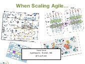 Do teams lose their esprit de corps when scaling agile?