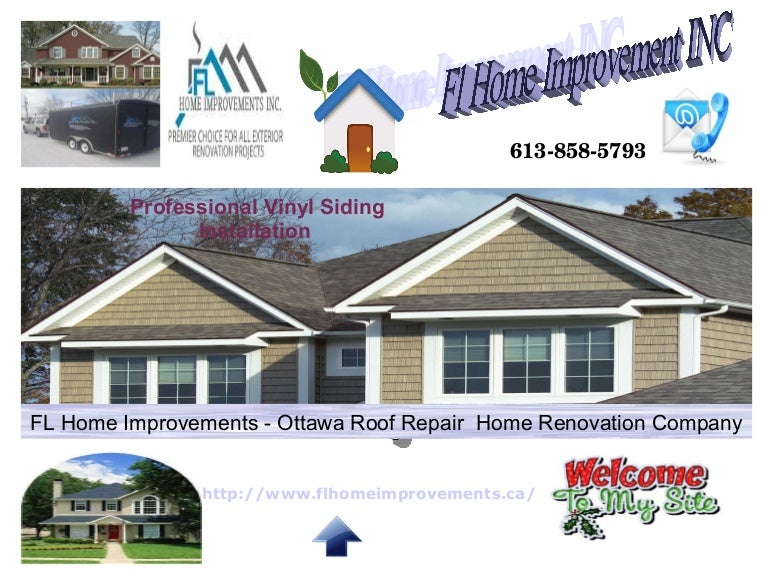 Fl Home Improvement Inc Best Roofing Contractor Ottawa