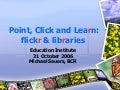 Flickr & Libraries
