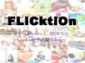Flicktion - Teen Research and Creative Writing