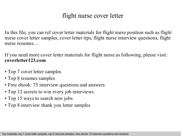 Nurse Cover Letter Flight Nurse Cover Letter New Grad Nurse Cover