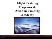 Flight Training Programs & Aviation Training Academy