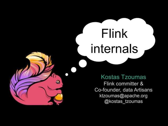 Flink internals web