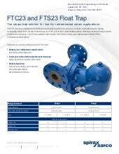 Float Steam Trap From Spirax Sarco