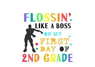 $REad_E-book Flobin Like A Bob On My First Day Of 2nd Grade Lined Wide Ruled Paper For Elementary School Students Funny Video Game Flob Dance Note Diary For Homework 8 5 x 11