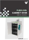 Floor Level Cabinet Oven by ACMAS Technologies Pvt Ltd.