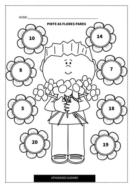Flores pares