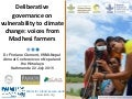 Deliberative governance on vulnerability to climate change: voices from Madhesi farmers