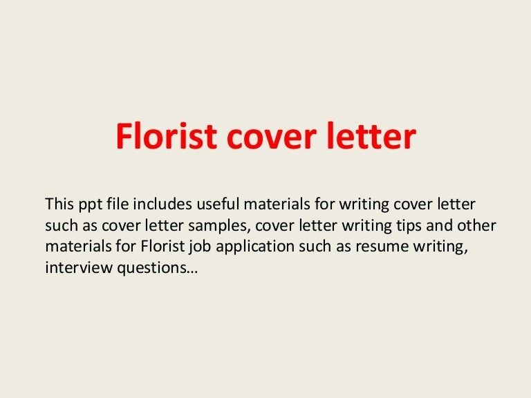 Floristcoverletterphpappthumbnailjpgcb - Floral assistant cover letter