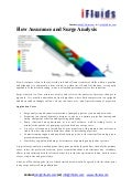 Flow assurance and surge analysis