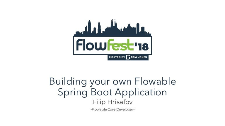 own Flowable Spring Boot application