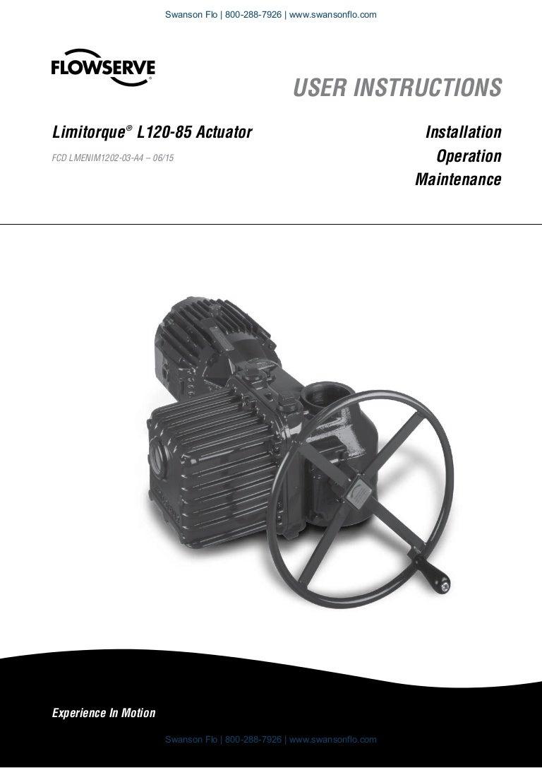 Flowserve Limitorque L120