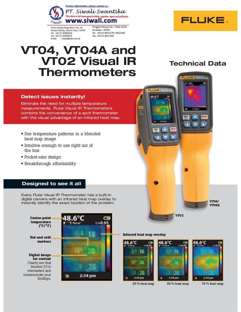 Fluke FLK-VT-Hard Case for VT02 and VT04 Series