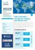BROCHURE: MSc in Global Strategic Management