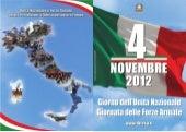 Giornata dell'Unità Nazionale e delle Forze Armate - 4 novembre 2012